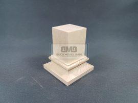 Beech Figure base natural 3x3