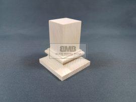 Beech Figure base natural 3,5x3,5