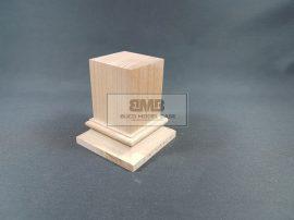 Beech Figure base natural 4,5x4,5