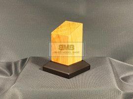 3,5x3,5 Oak Figure base