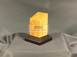 Oak Figure base 4,5x4,5