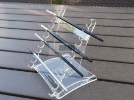 Brush holder Clear